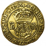 Henry VIII Gold Crown Of The Double Rose