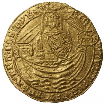 Edward III Gold Noble Mule