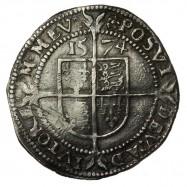 Elizabeth I Silver Threepence 1574