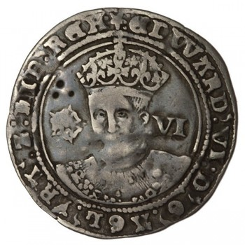 Edward VI Silver Sixpence York