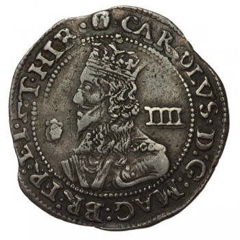 Charles I Bridgnorth-on-Seven Silver Groat