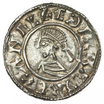 Aethelred II 'Last Small Cross' Silver Penny