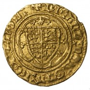 Richard II Gold Quarter Noble