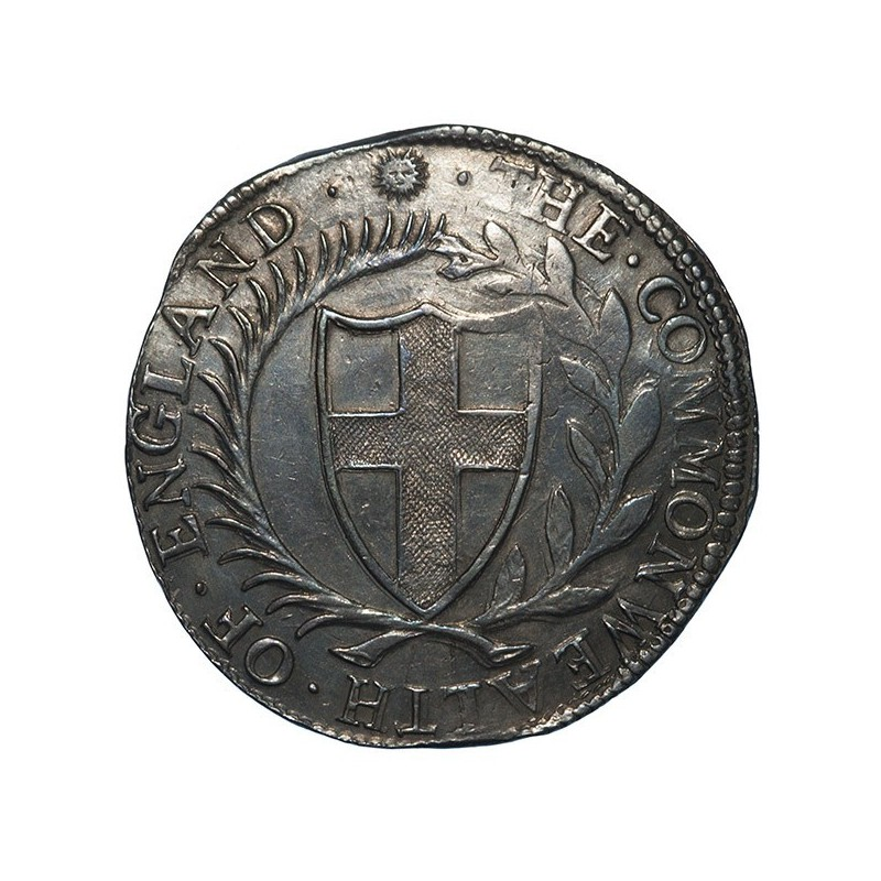 Commonwealth 1653 Silver Crown