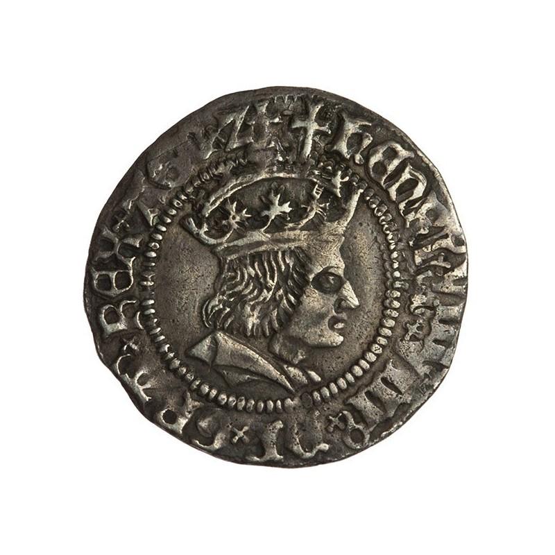Henry VIII Silver Halfgroat