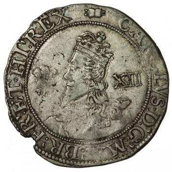 Charles I Aberystwyth Silver Shilling