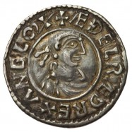 Aethelred II 'First Hand' Silver Penny