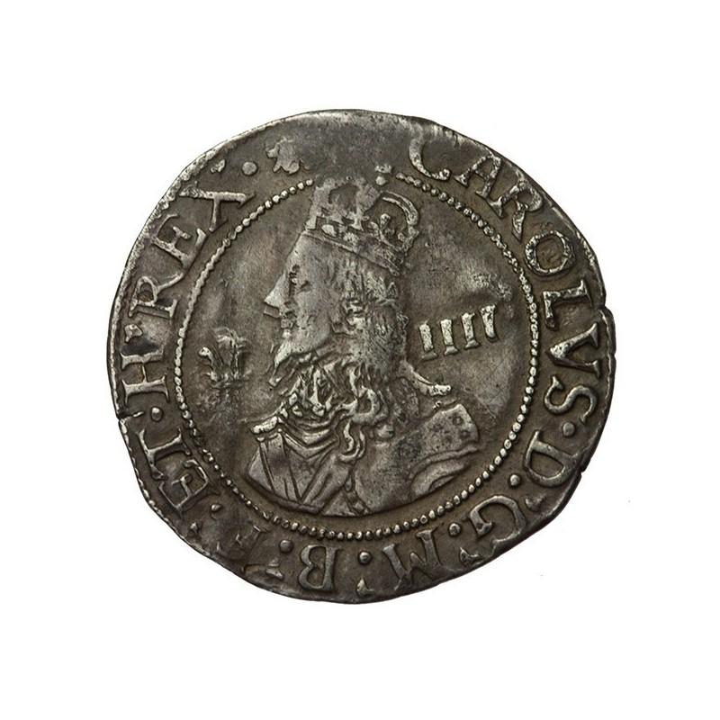 Charles I Silver Aberystwyth Groat