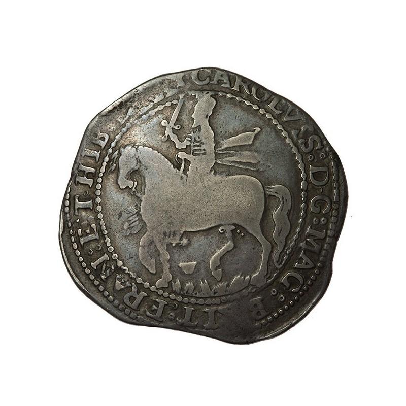 Charles I Worcester Silver Halfcrown