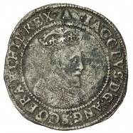 James I Silver Irish Shilling
