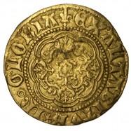 Henry VI Gold Quarter Noble