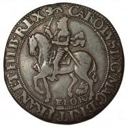 Charles I Silver York Halfcrown