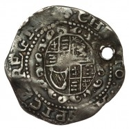 Charles I Silver Worcester/SA Threepence