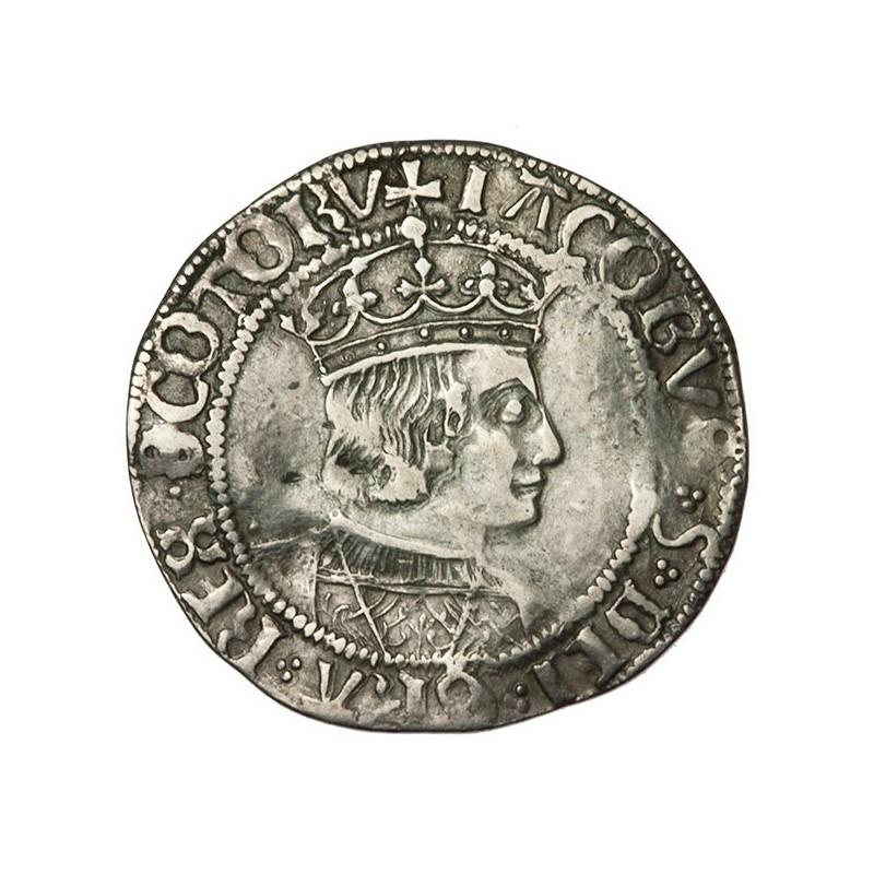 James V Silver Groat - Scottish
