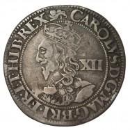 Charles I York Silver Shilling