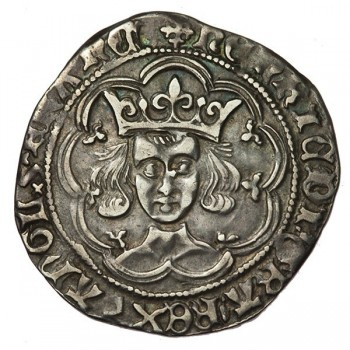 Henry VI Silver Groat Pinecone-mascle