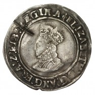 Elizabeth I Silver Shilling First Issue