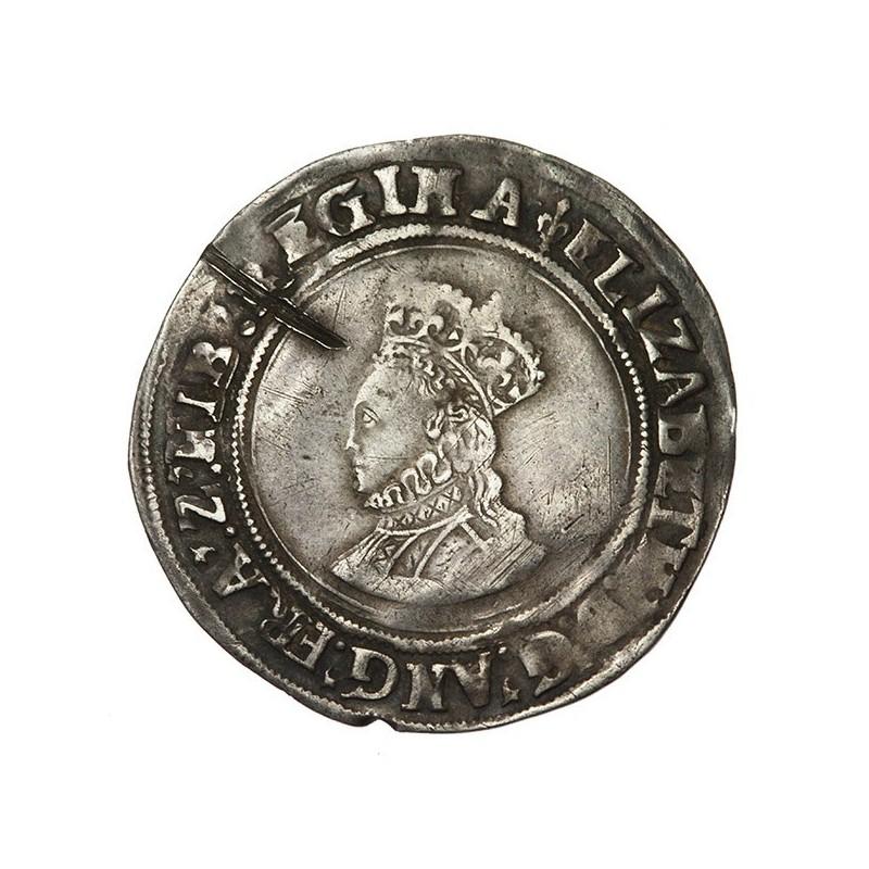 Elizabeth I Silver Shilling First Issue