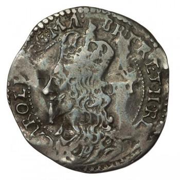 Charles I Oxford Silver Groat