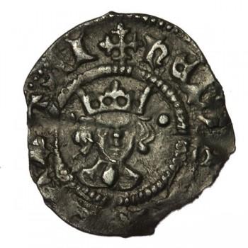 Henry VI Silver Halfpenny Leaf-pellet