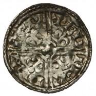Harold I 'Fluer-de-Lis' Silver Penny Lewes