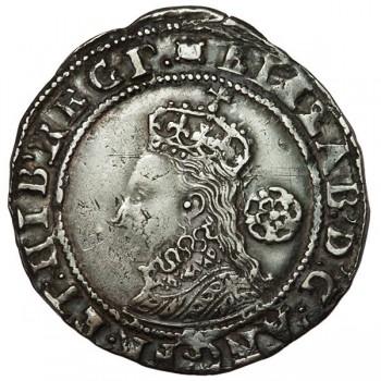 Elizabeth I Silver Sixpence 1594