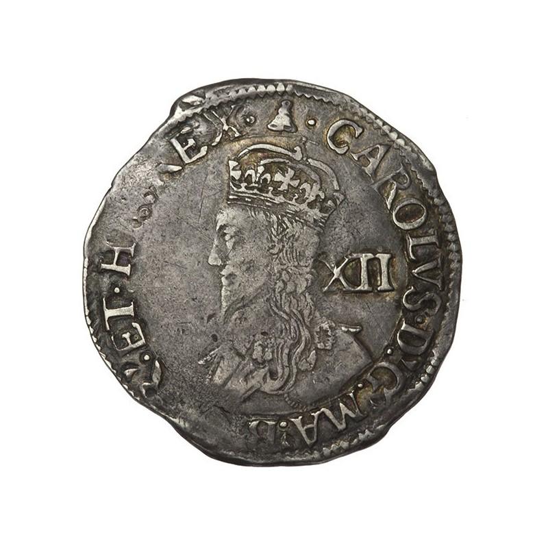Charles I Silver Shilling