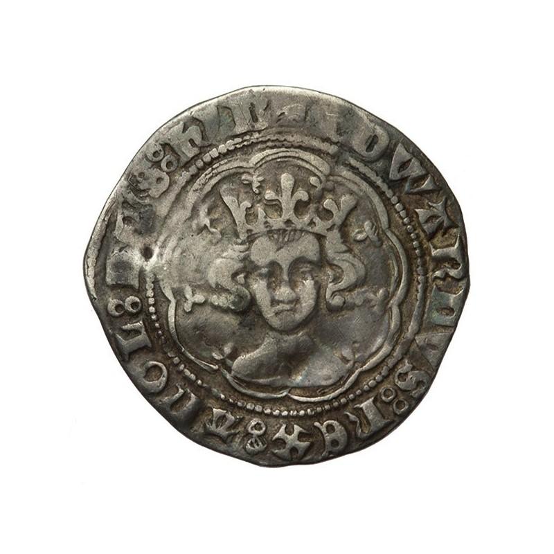 Edward III Silver Halfgroat