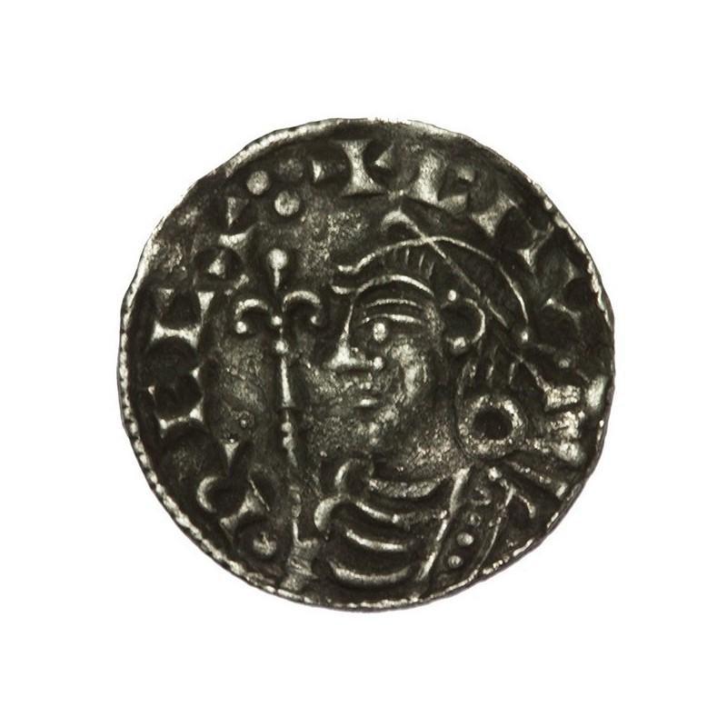 Cnut 'Short Cross' Silver Penny Gloucester