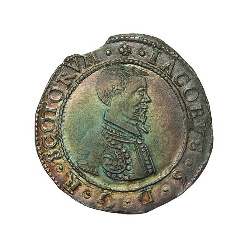 James VI Silver Five Shillings - Scottish