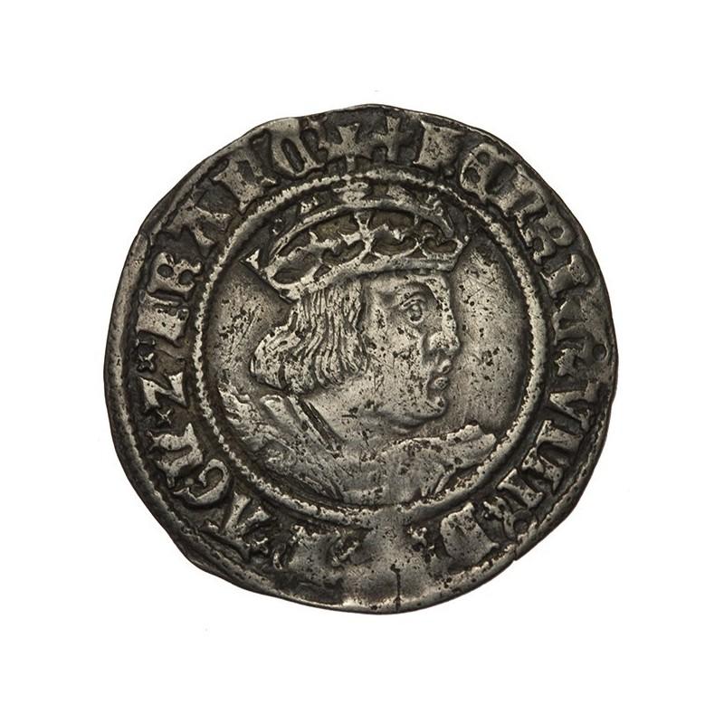 Henry VIII Silver Groat - York