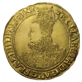 Elizabeth I Gold Pound