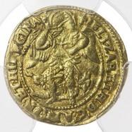 Elizabeth I Gold Half Angel