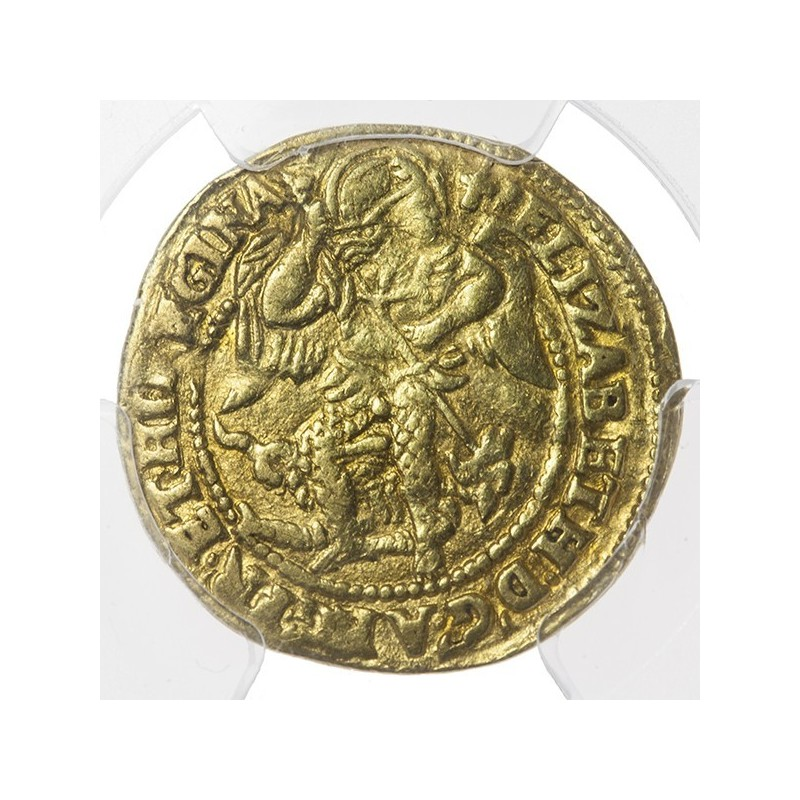 Elizabeth I Gold Half Angel