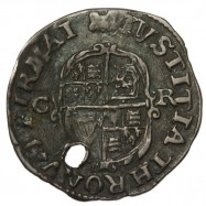 7 - Charles I Silver Halfgroat