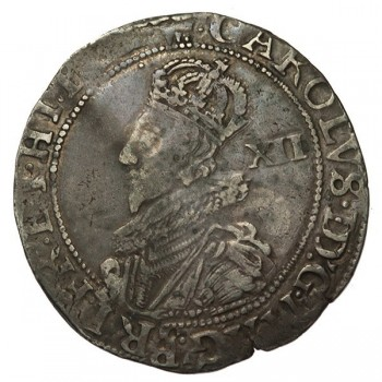 Charles I Silver Shilling