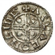 Cnut 'Pointed Helmet' Silver Penny Lincoln