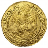 Elizabeth I Gold Angel