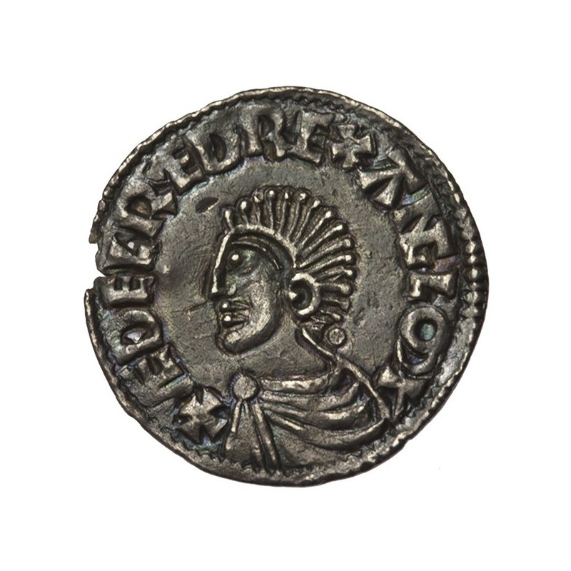 Aethelred II 'Longcross' Silver Penny Bath