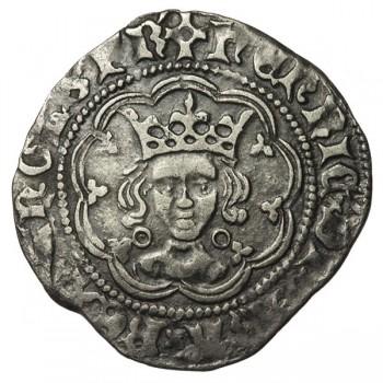 Henry VI Silver Halfgroat Annulet Issue