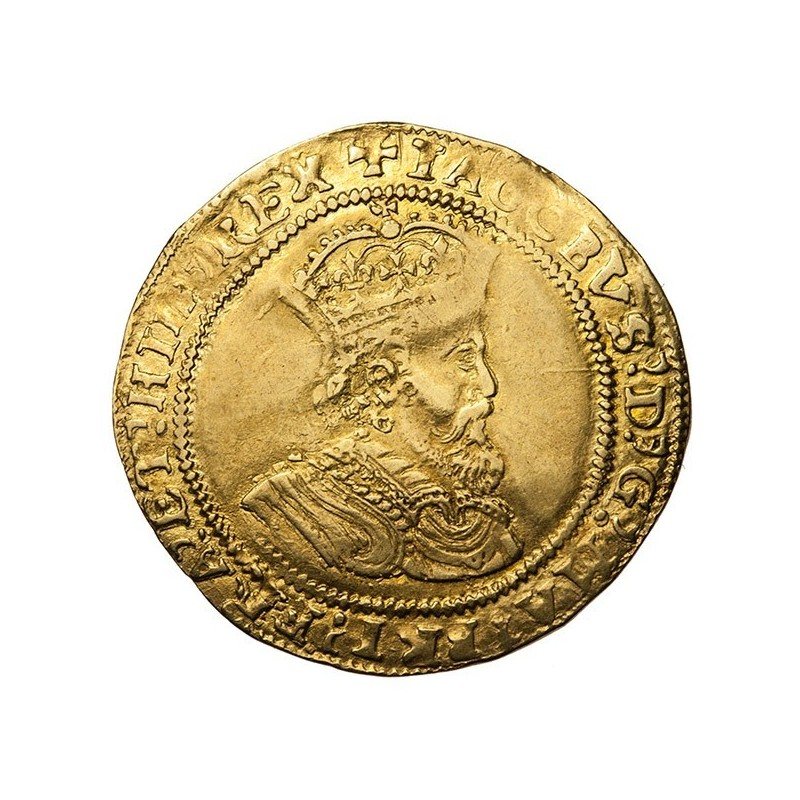 James I Gold Double Crown
