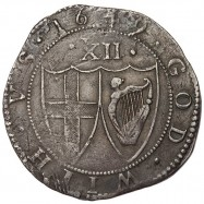 Commonwealth 1649 Silver Shilling
