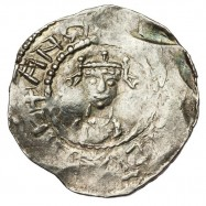 Henry I 'Facing bust/cross fleury' Silver Penny