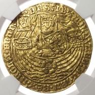 Edward IV Gold Ryal Flemish Imitation