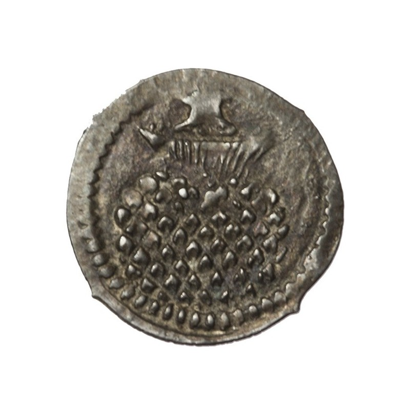 James I Silver Halfpenny