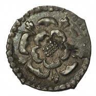 James I Silver Halfpenny