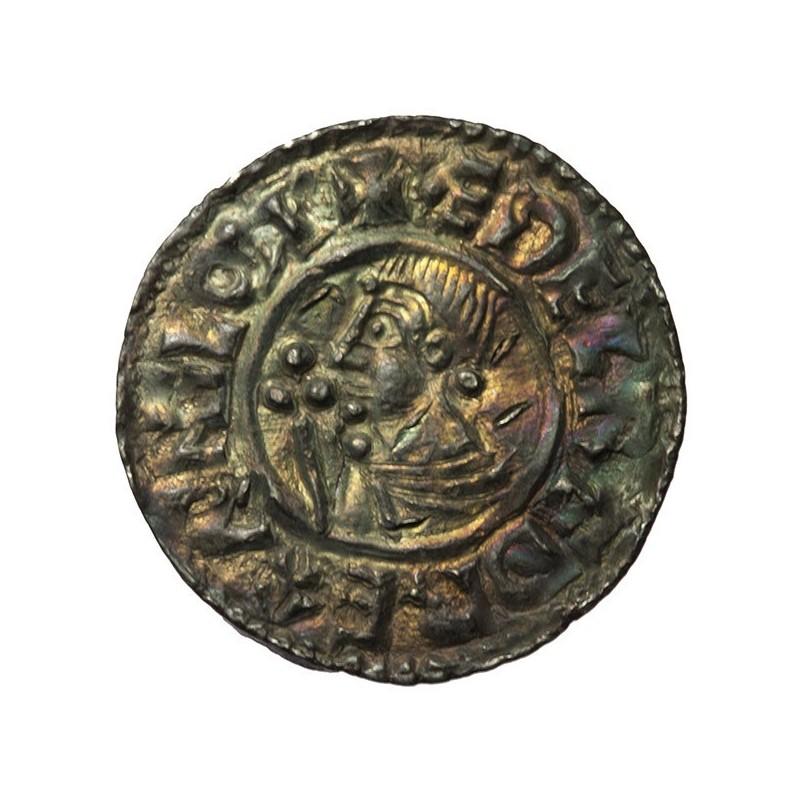 Aethelred II 'CRUX' Silver Penny