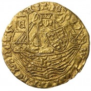 Edward IV Gold Half Ryal York