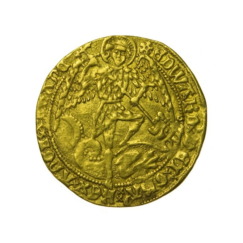 Edward IV Gold Angel Second Reign