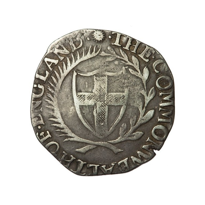 Commonwealth 1656 Silver Shilling